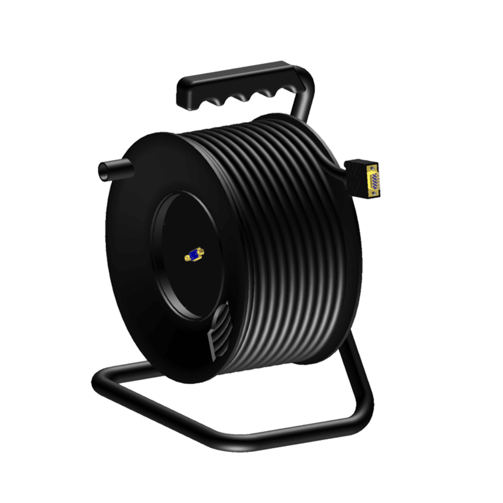 CRM650 - Cable reel - SVGA male - SVGA female