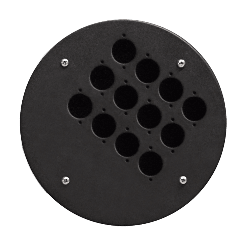 CRP312 - 12 d-size hole plate
