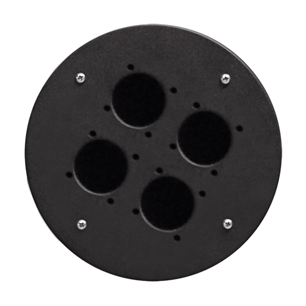 CRP340 - 4 x schuko hole center plate