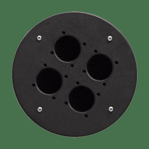 CRP340 - 4 x schuko hole center plate