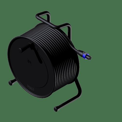 CRX425 - Cable reel - loudspeaker cable - 4-pin speakON