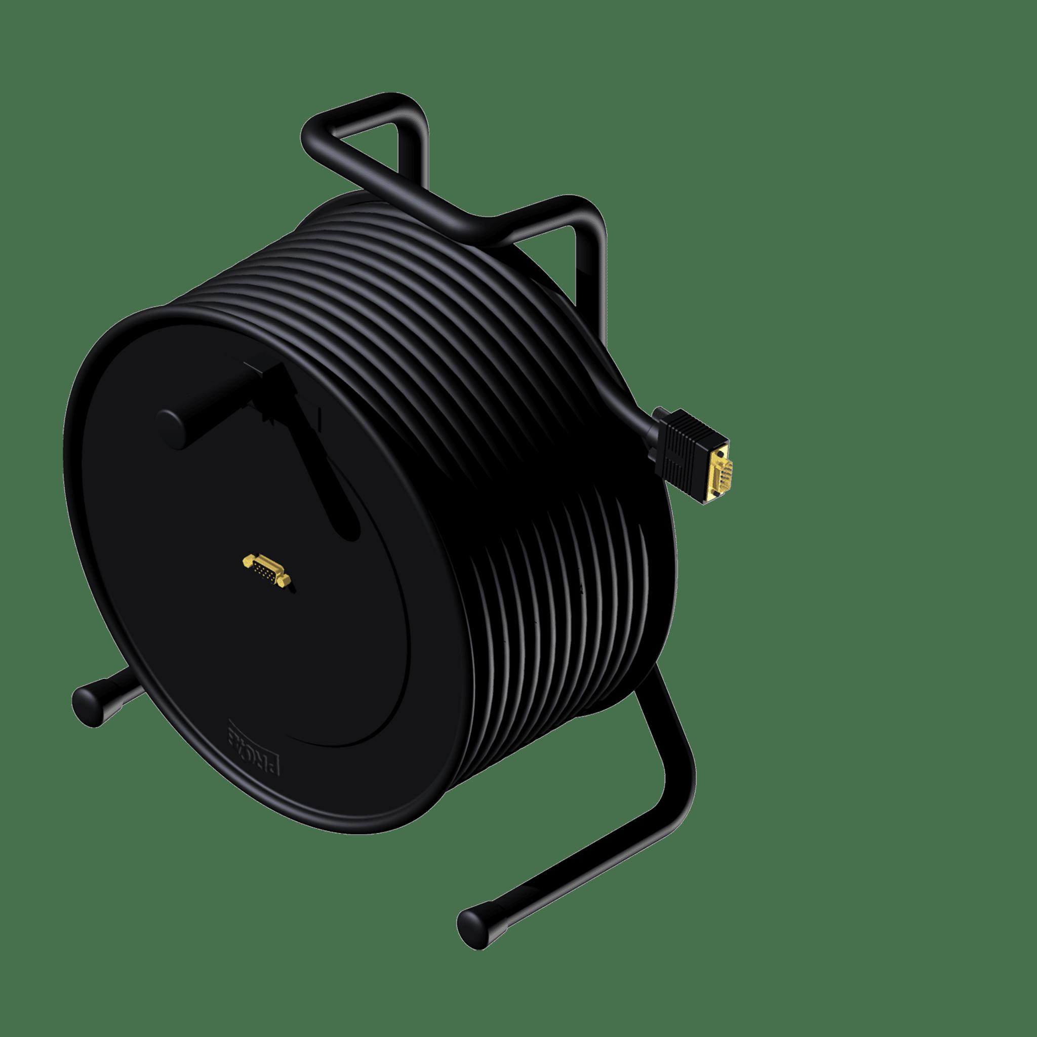 CRX650 - Cable reel - SVGA female - SVGA male