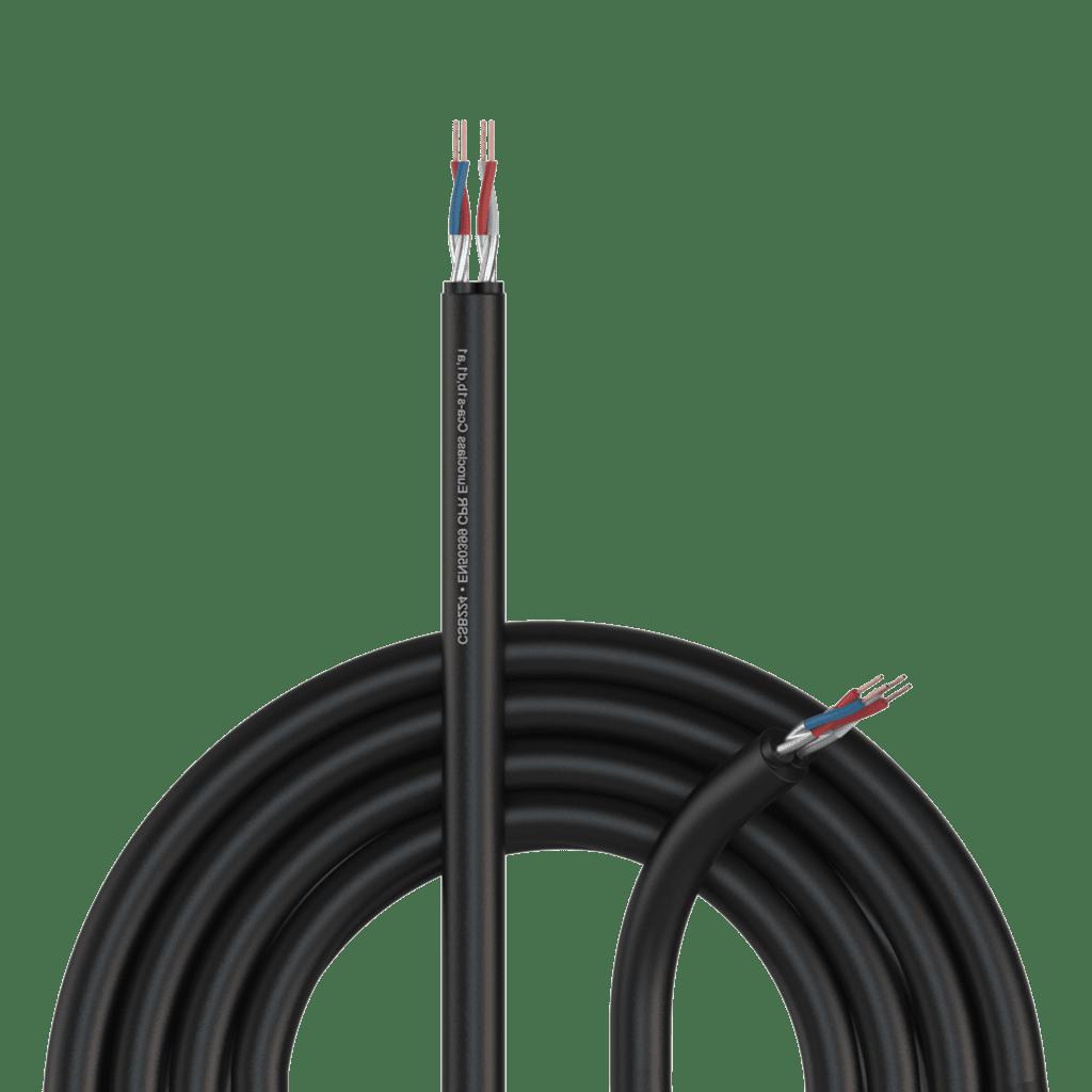 CSB224-CCA - Balanced signal cable - flex 0.20 mm² - 24 AWG - EN50399 CPR Euroclass Cca-s1b,d1,a1