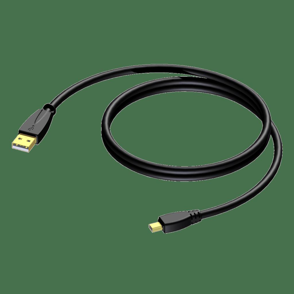 CXU625 - USB A - USB mini B
