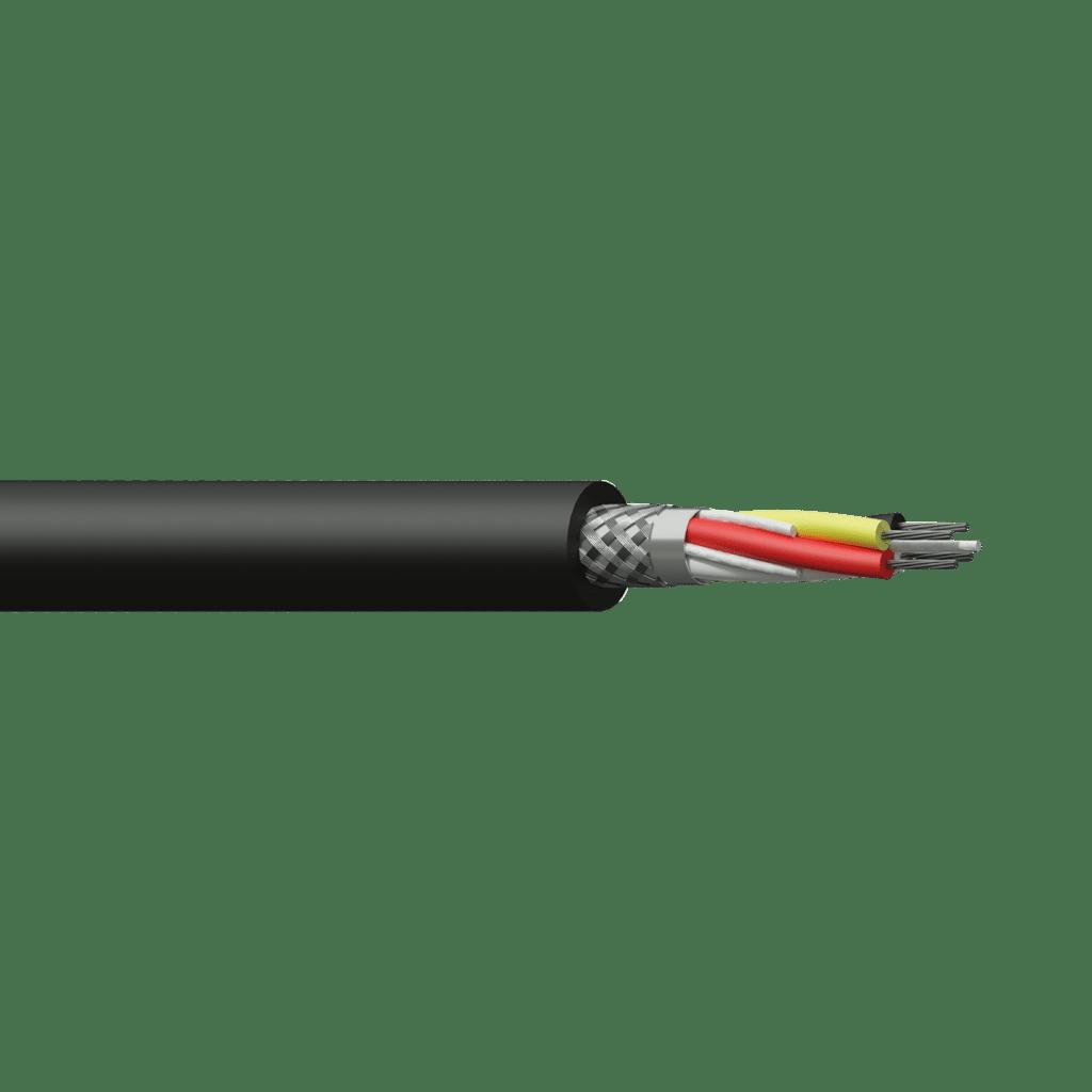 DMX50 - DMX-AES cable - flex 2 pairs 0.12 mm² - 26 AWG