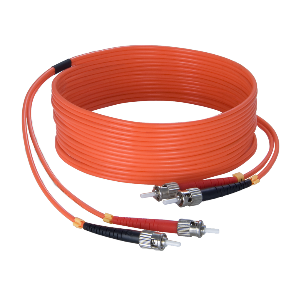 FBS125 - Fiber optic cable - st/pc - st/pc - LSHF