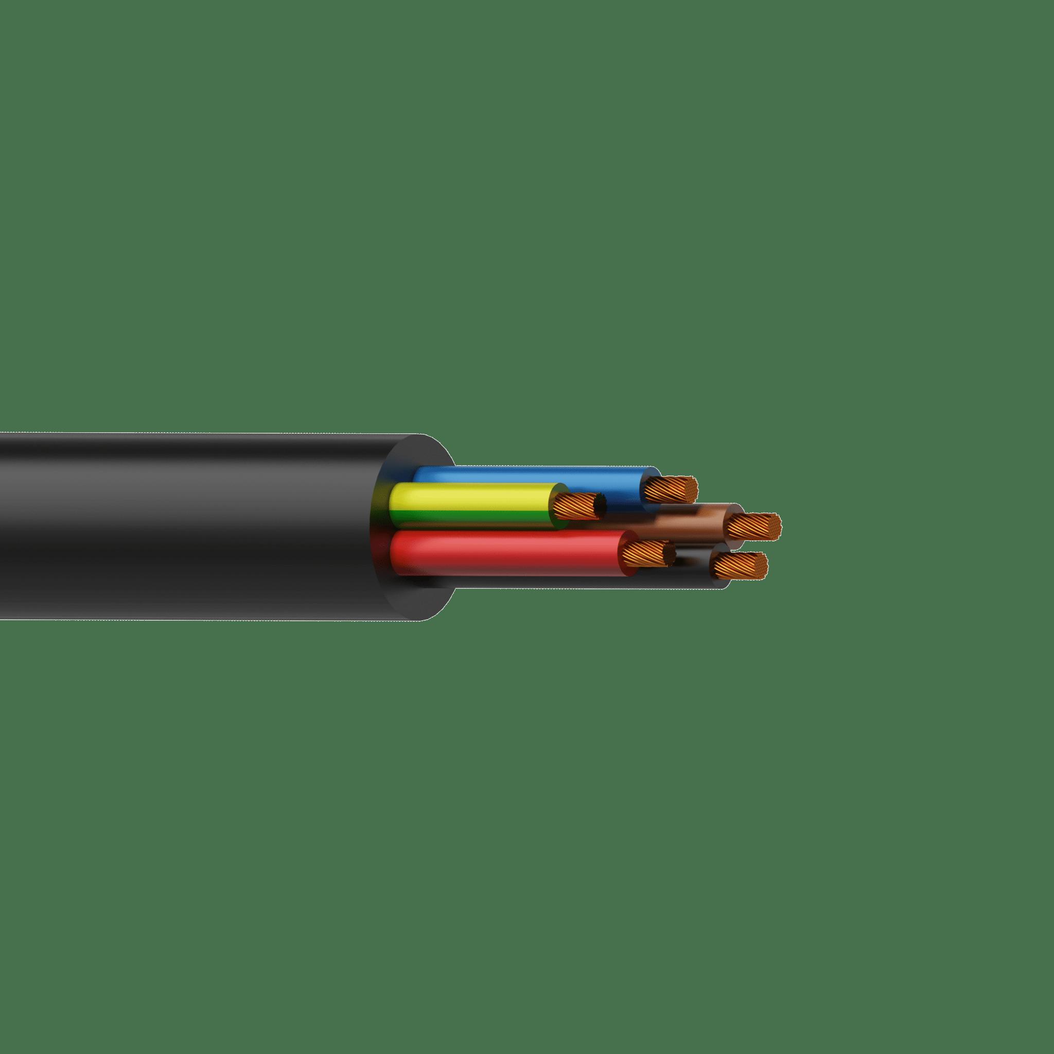 H07RN-F5G2.5 - Power cable - H07RN-F 5G2.5 - 5 x 2.5 mm² - 13 AWG