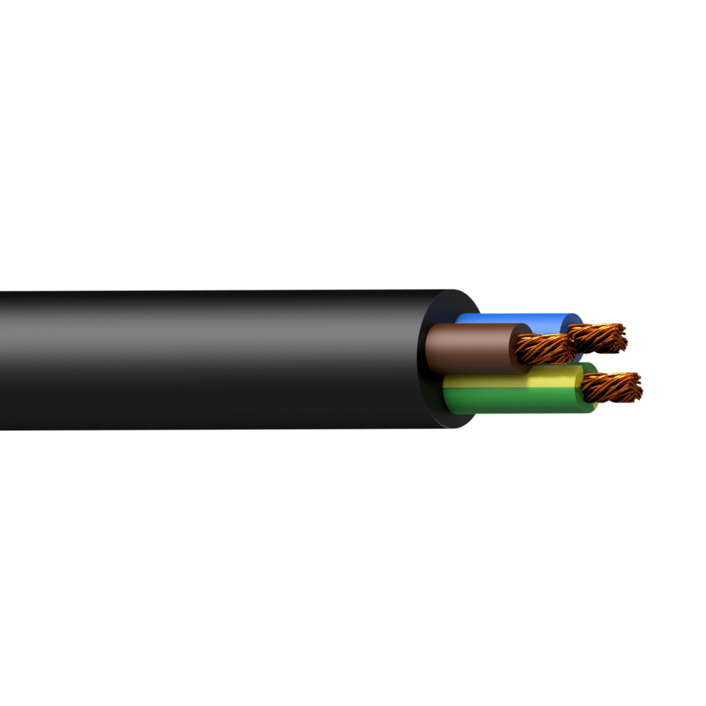 HPC3G2.5 - 3G2.5 3 x 2.5 mm² PVC power cable