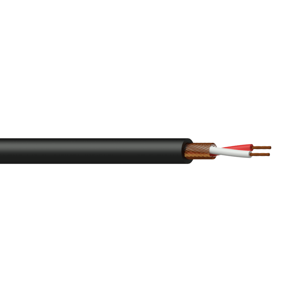 MC105 - Balanced microphone cable - flex 2 x 0.125 mm² -  26 AWG