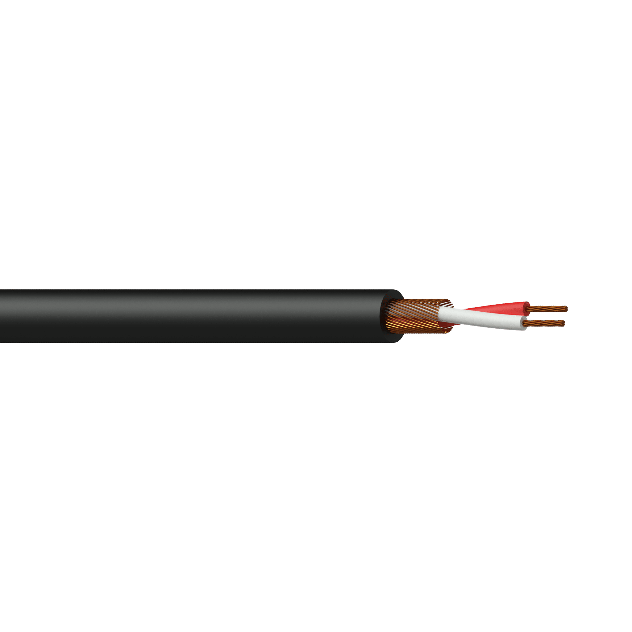 MC105 - Balanced microphone cable - flex 2 x 0.125 mm² -  26 AWG