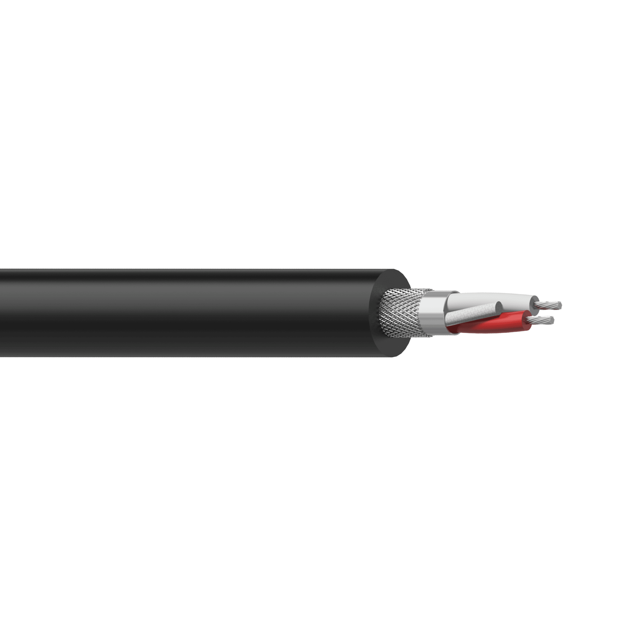 MC405 - Balanced microphone cable - flex 2 x 0.23 mm²- 24 AWG