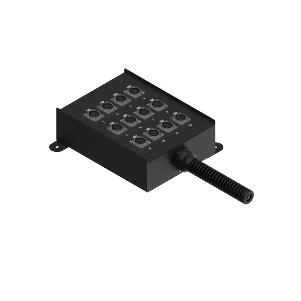 MSB12.0 - Multi stage block 12 x XLR female