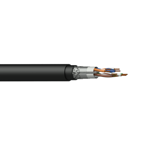 PCT50SF - Networking cable - CAT5E - SF/UTP - flex 0.22 mm² - 24 AWG - DuraFlex™