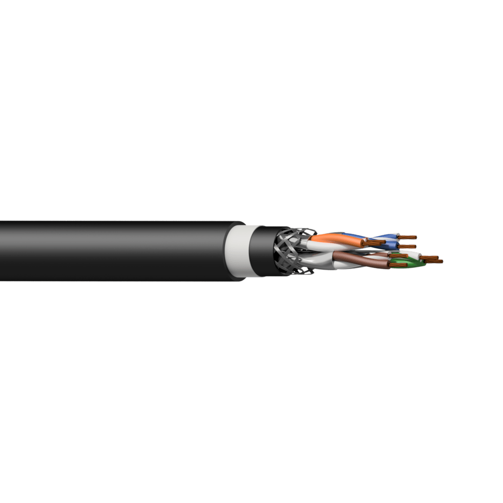 PCT60SF - Networking cable - CAT6A - S/FTP - flex 0.22 mm² - 24 AWG - DuraFlex™