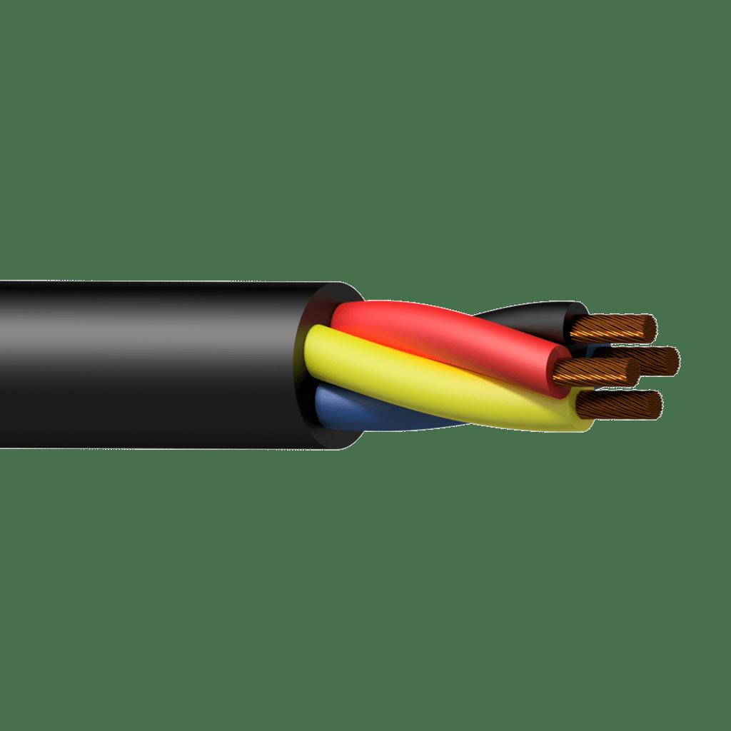 Loudspeaker cable - 4 x 4.0 mmý - 11 AWG - HighFlexT