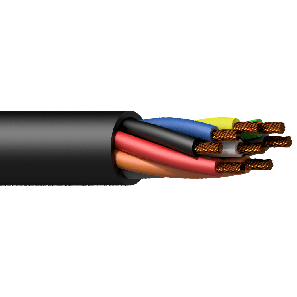 PLS825 - Loudspeaker cable - 8 x 2.5 mm² - 13 AWG - HighFlex™