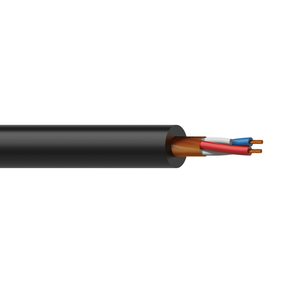 PMC224 - Balanced microphone cable - flex 2 x 0.22 mm² - 24 AWG - UltraFlex™