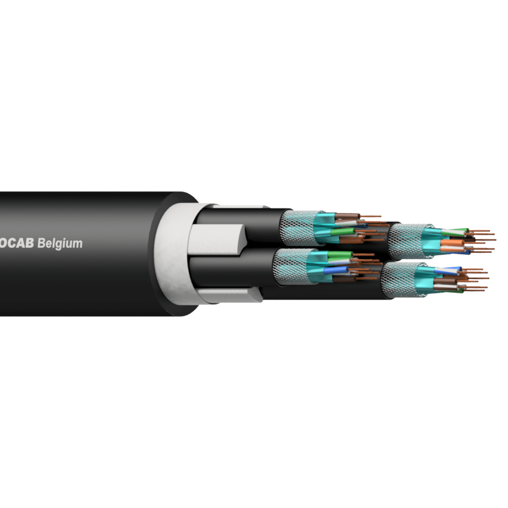 4 x CAT7 S/FTP networking cable
