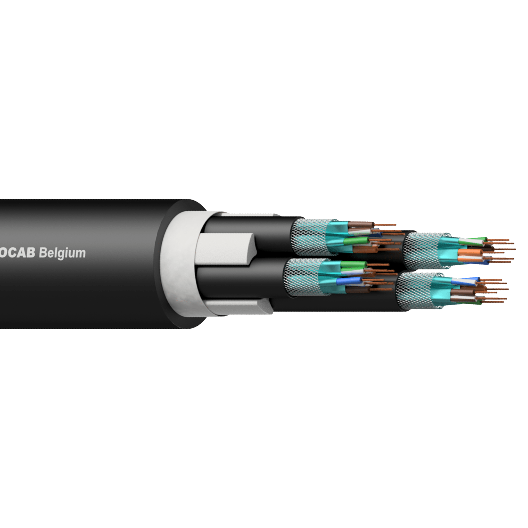 PNC047 - 4 x CAT7 S/FTP networking cable
