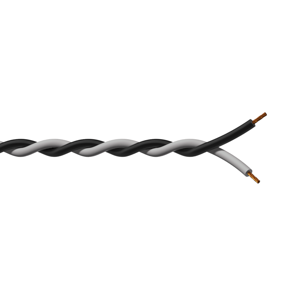 PR460X - Twisted assembling cable - 2 x 1 mm² - 17 AWG