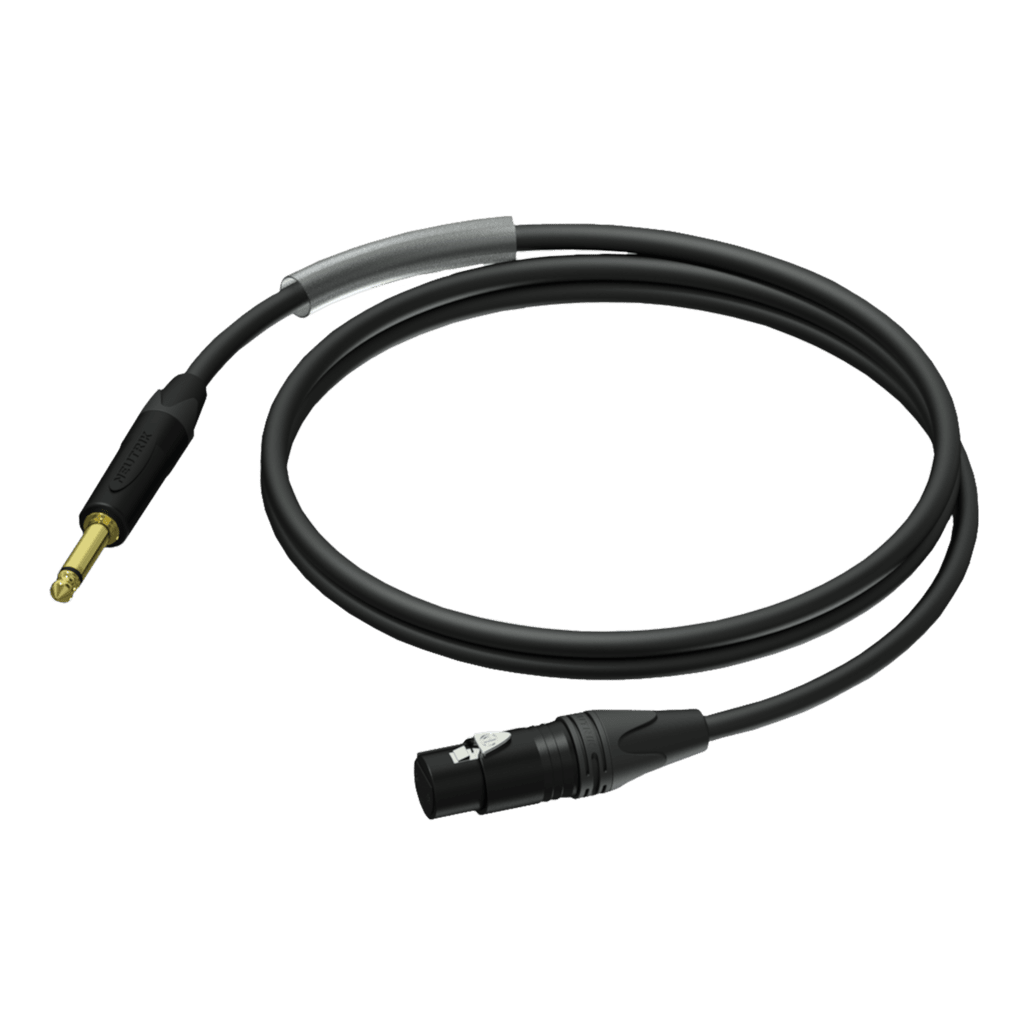 PRA900 - Jack male mono - XLR female - UltraFlex™
