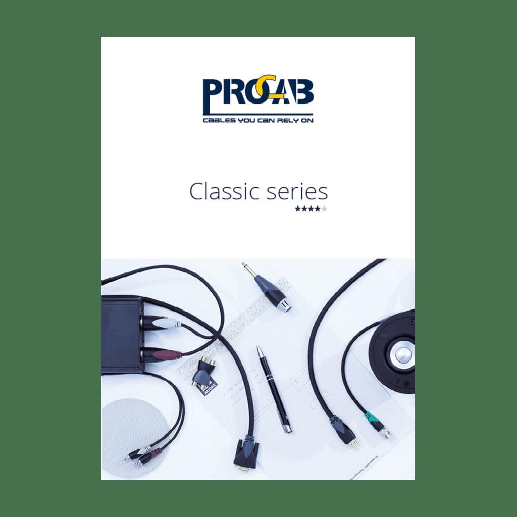 PROMO6067 - PROCAB Classic catalogue edition 2.0