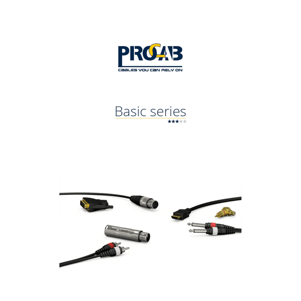 PROMO6211 - PROCAB Basic catalogue edition 2.0