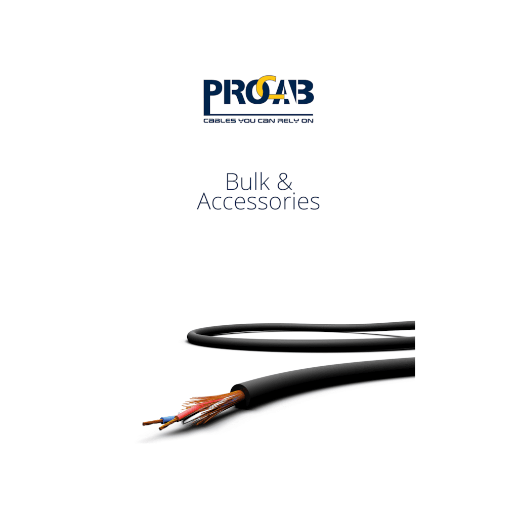 PROMO6212 - PROCAB Bulk & accessories catalogue 2.0