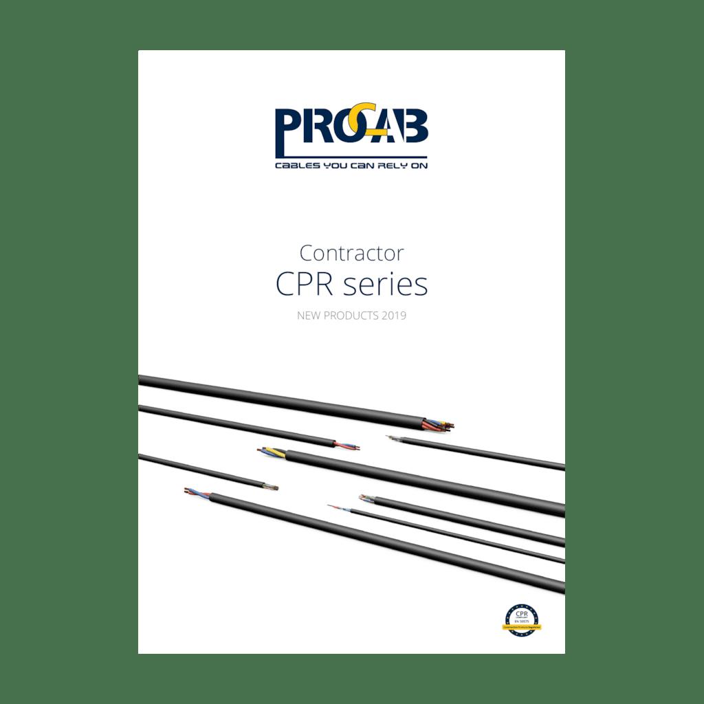 PROMO6215 - PROCAB Contractor CPR series