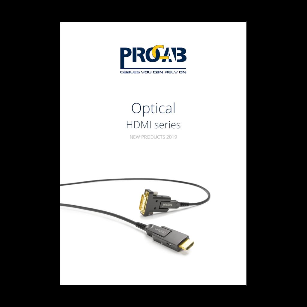 PROMO6216 - PROCAB Optical HDMI series