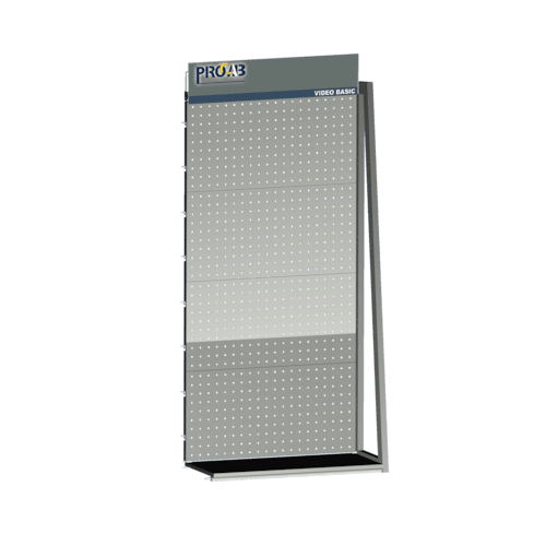PROMORD4002 - Extension display rack for attaching hooks