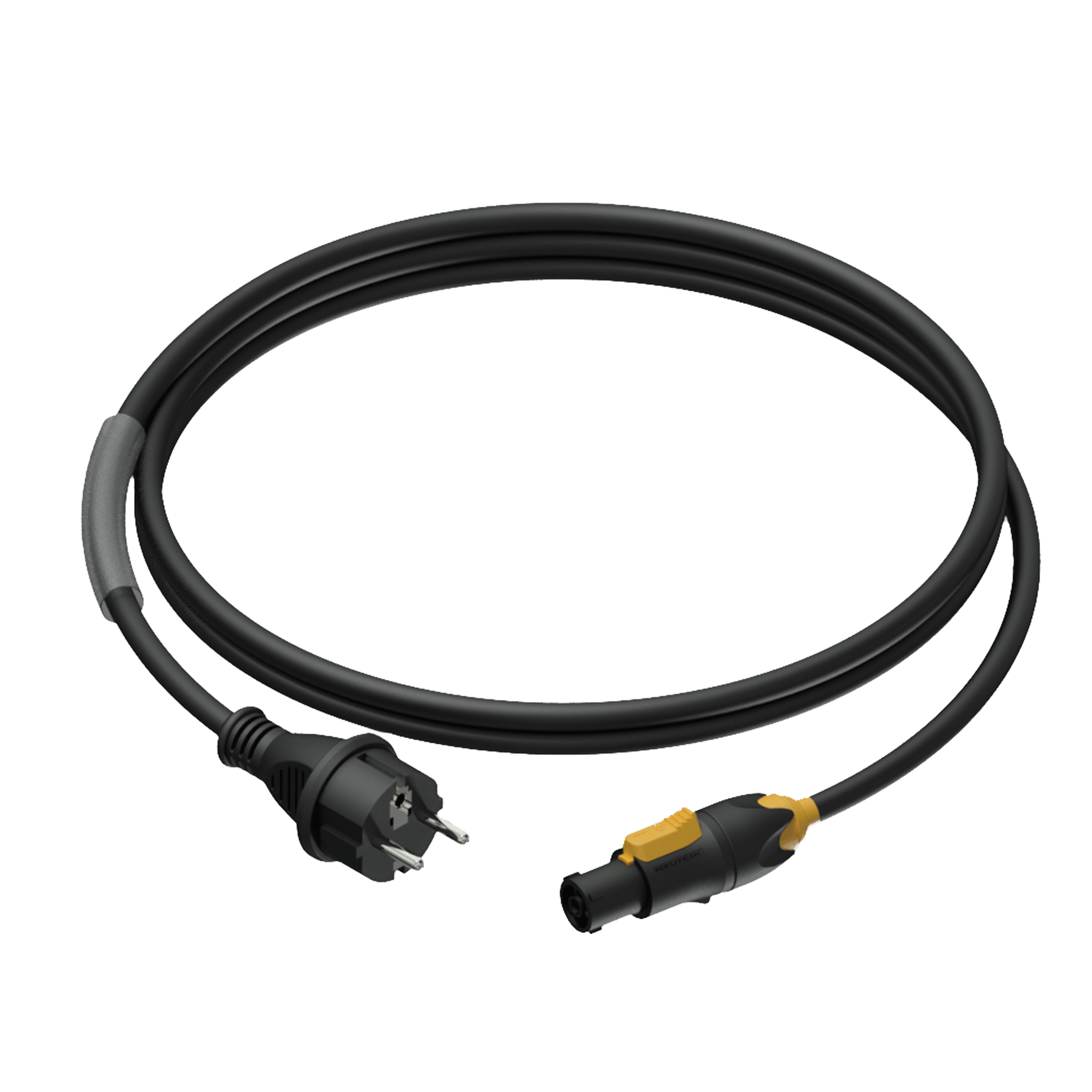 PRP433 - Power cable - schuko male - powerCON TRUE1 female - 3 x 1.5 mm²