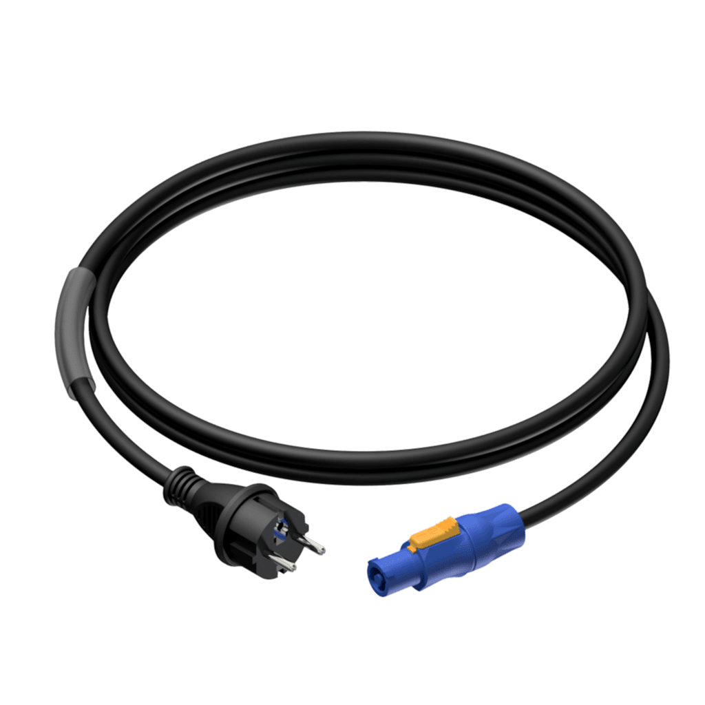 PRP442 - Power cable - schuko male - powerCON power-out - 3 x 2.5 mm²
