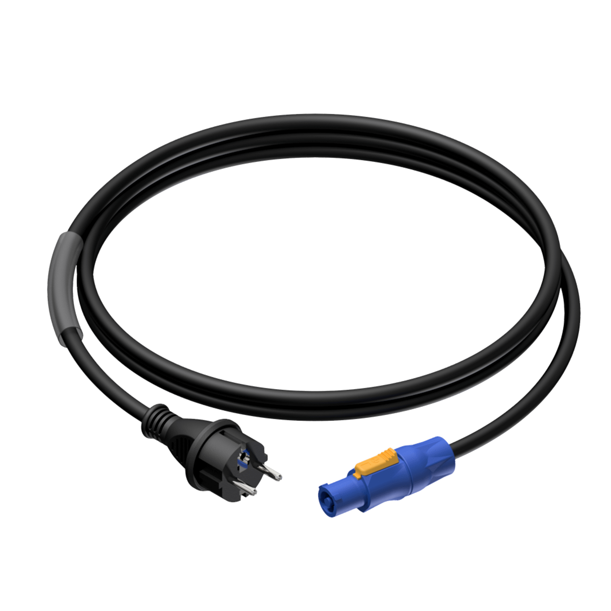 CAB442 - Power cable - schuko male - powerCON power-out - 3 x 2.5 mm²