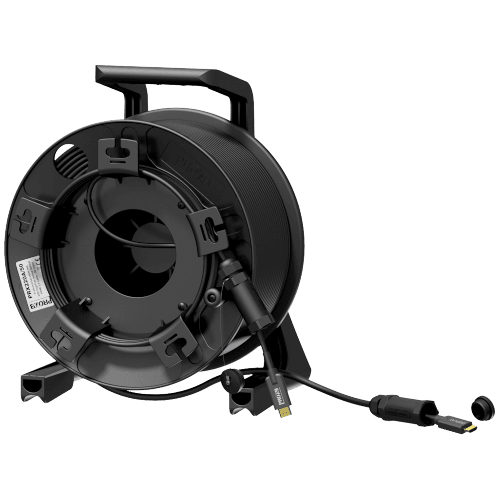 PRX220A - Cable reel - HDMI A male - HDMI A male - active optical - HighFlex™
