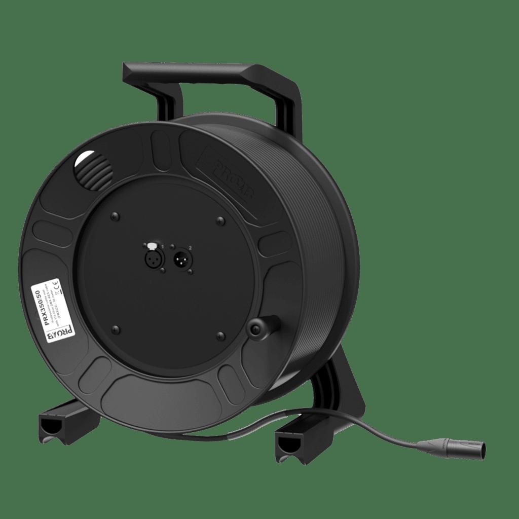 PRX350 - Cable reel - DMX AES/ EBU - XLR male & female  - XLR male - HighFlex™