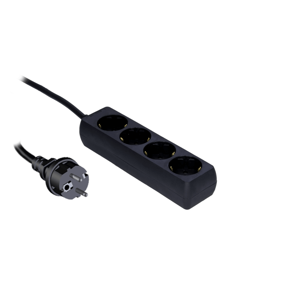PSC104 - Powerstrip with child protection, 4-way
