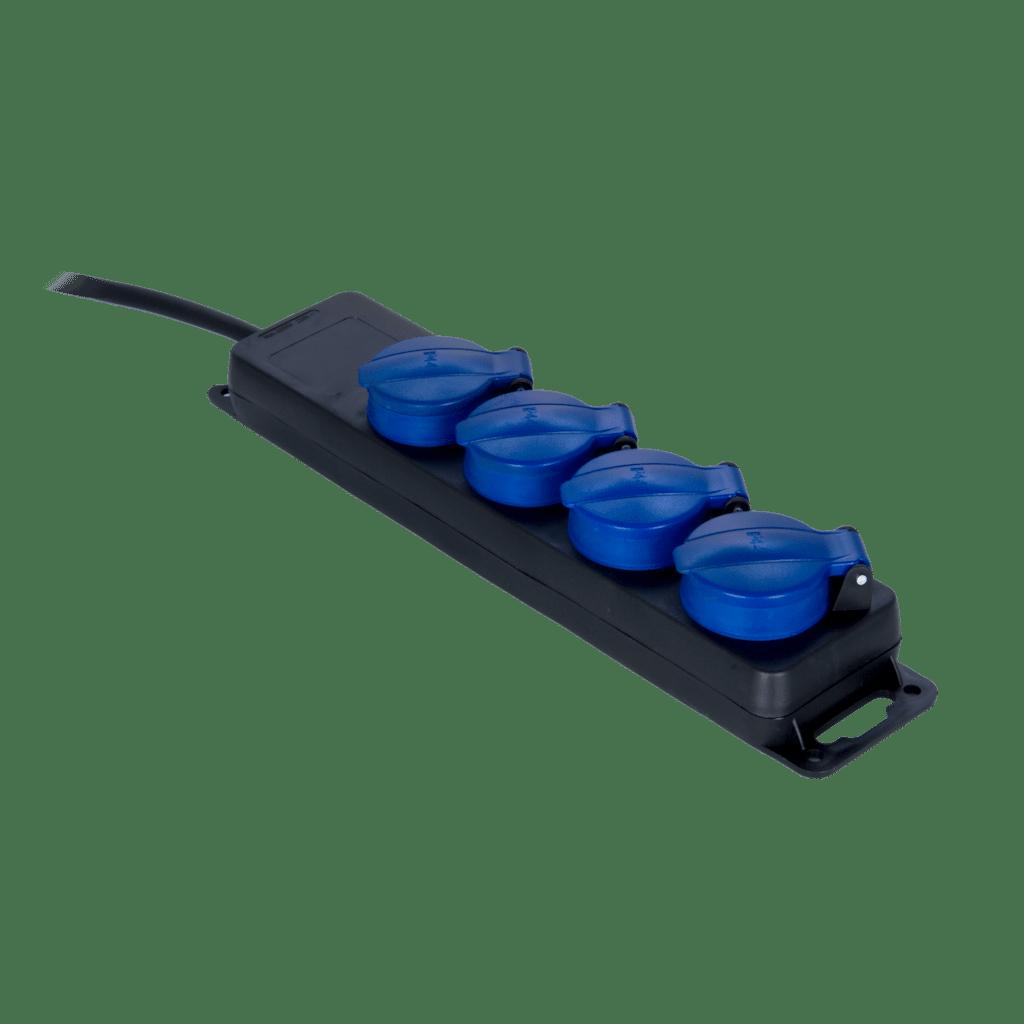 PSI104 - IP44 powerstrip, 4-way