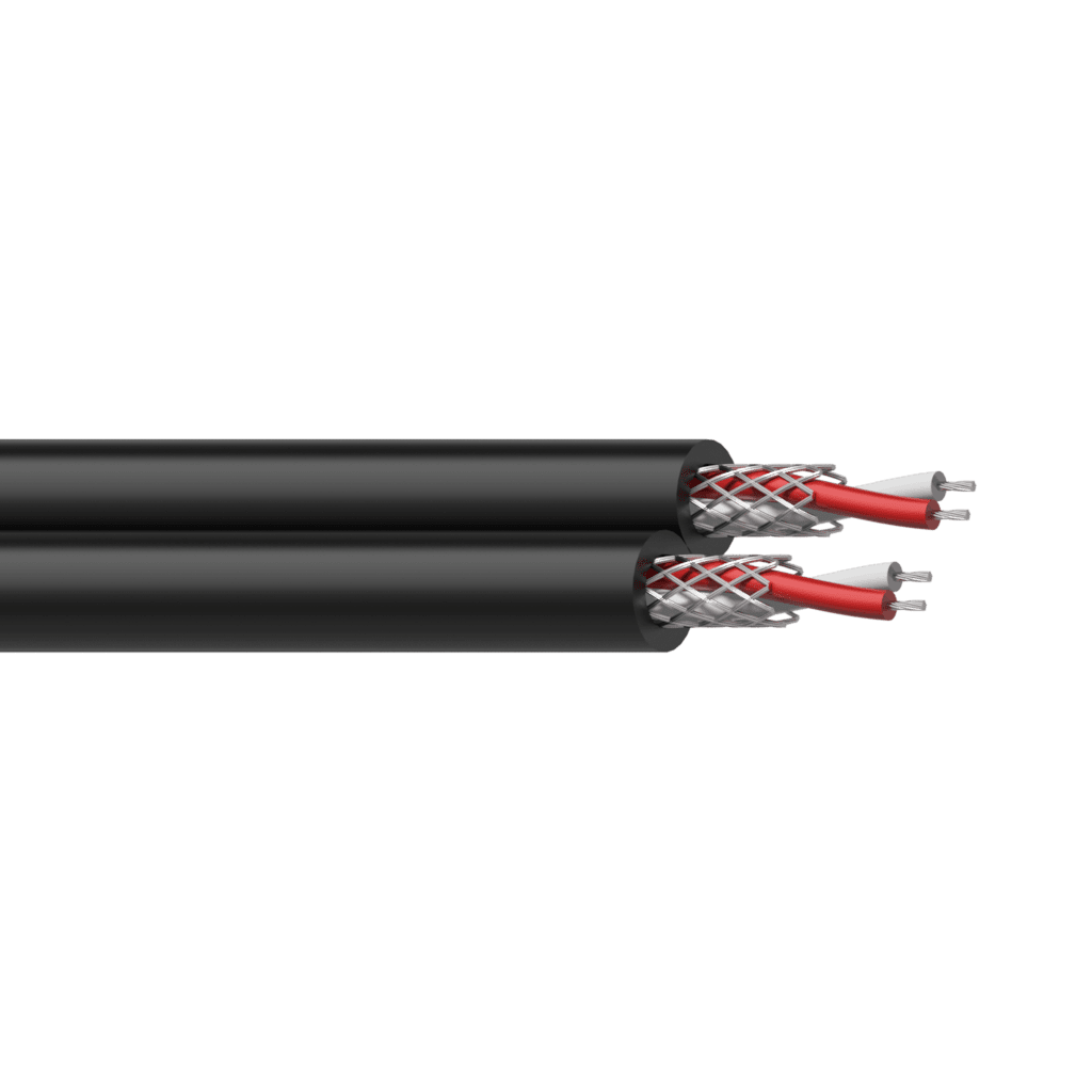 RIG58 - Balanced signal cable -  flex 4 x 0.16 mm² - 25 AWG