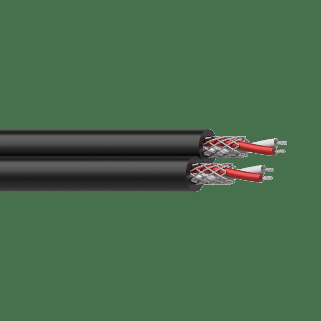 RIG58 - Balanced signal cable -  flex 4 x 0.16 mm² - 25 AWG