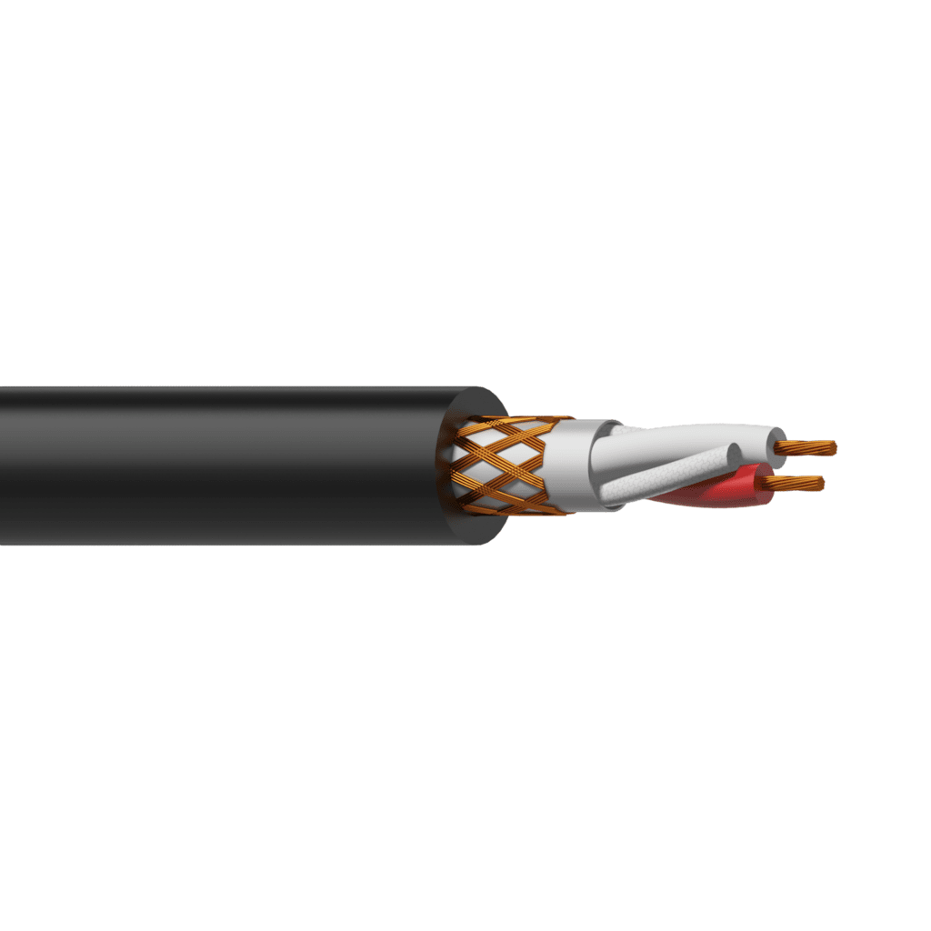 RMC305 - Balanced microphone cable - flex 2 x 0.22 mm² - 24 AWG