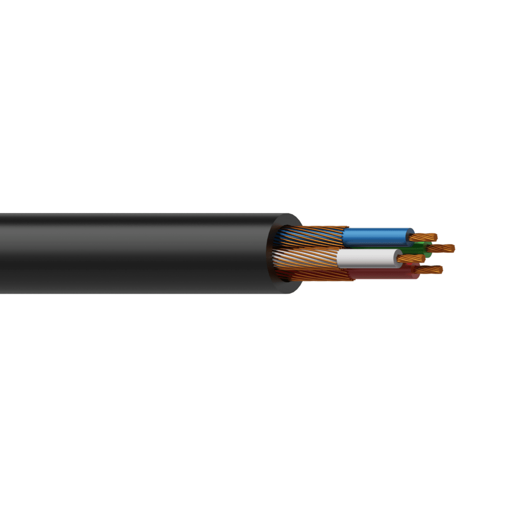 SIG85 - Unbalanced signal cable - flex 4 x 0.20 mm² - 24 AWG