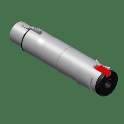VC110 - Adapter - XLR female - 6.3 mm Jack female stereo