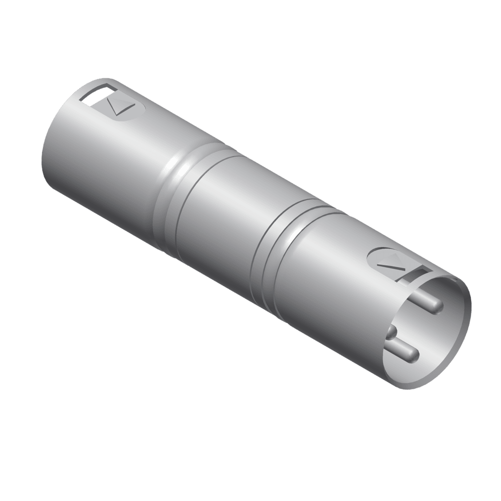 VC140 - Adapter - XLR male - XLR male