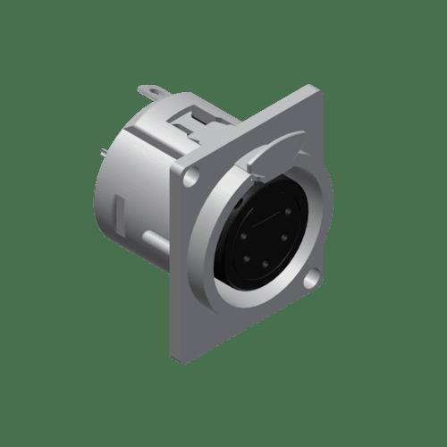 VC5FDL - Panel connector - 5-pin xlr female