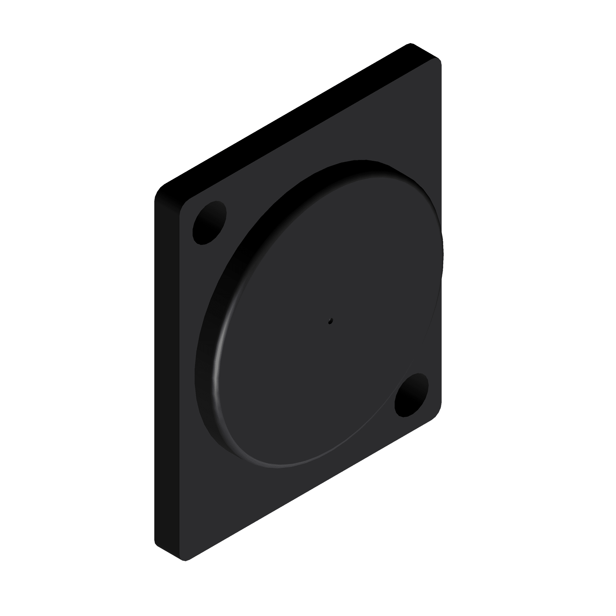 VCD10 - Blind plate - D-size