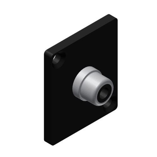 VCD15 - Panel connector - rca/cinch female