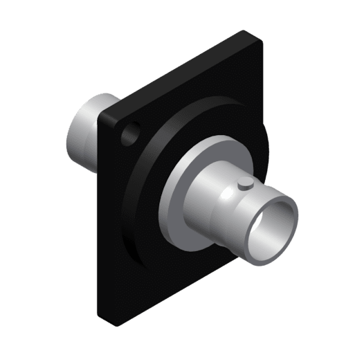 VCD30 - Panel connector - bnc double female