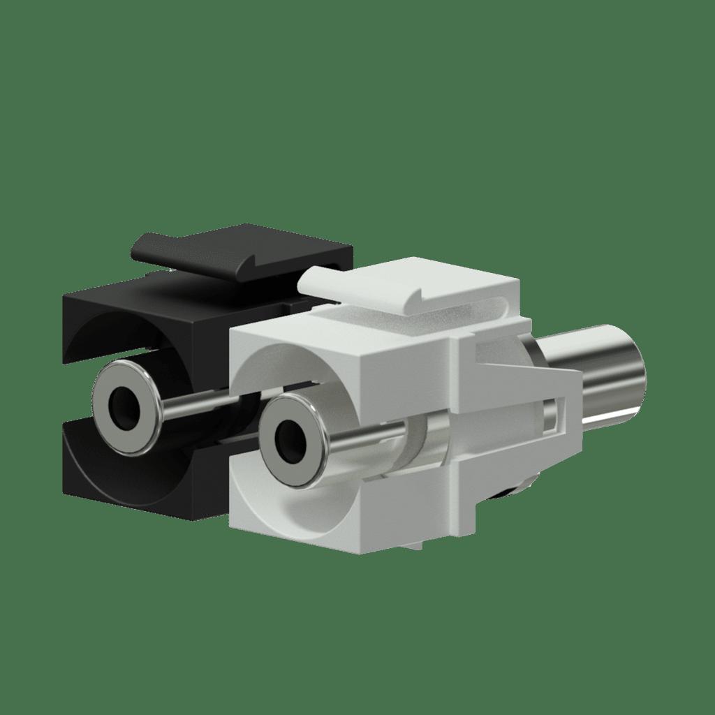 Keystone adapter - 3.5 mm Jack female - 3.5 mm Jack female