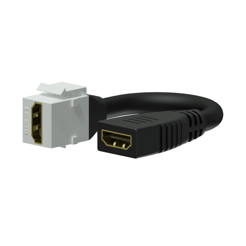 VCK450 - Keystone adapter - HDMI A female - HDMI A female - pigtail